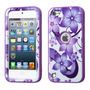 Funda Protector Triple Layer Apple Ipod Touch 5g / 6g Flores