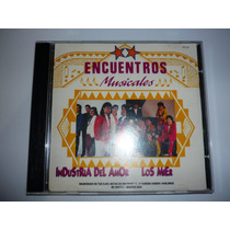 Encuentros Musicales Industria Del Amor Los Mier Cd 1993 Hm4