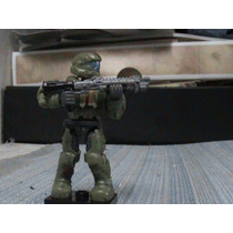 Figura Halo Megablok Agente De La Oni Lok Con Armas
