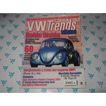 Revista Vw Trends Vocho Brasilia, Combi Karman