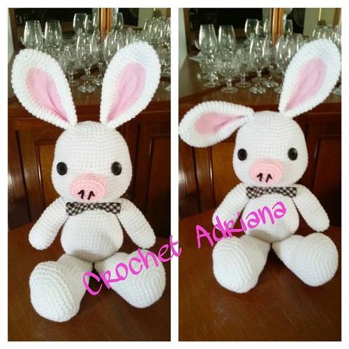 Amigurumi Pig Rabbit : Pig Rabbit O Cerdo Conejo Amigurumi Tejido Crochet USD600 ...