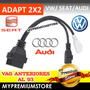 Adaptador Vag 2x2 A Obd2 Vw 1991 En Adelante Audi Seat Vw