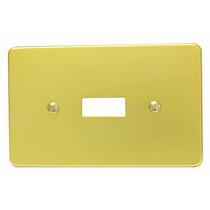 Placa De Aluminio Palanca Vertical Surtek 136609 5 Pzas Hm4