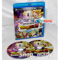 Dragon Ball Z La Batalla De Los Dioses Blu-ray + Dvd, Latino