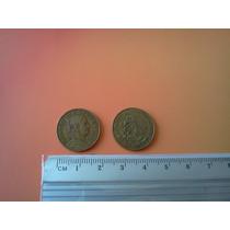 Lote De 100 Monedas De Cinco Centavos Josefa Diversos Años