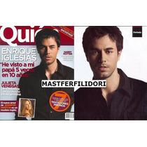 Enrique Iglesias Revista Quien De Julio 2007
