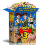Mega Kit Imprimible Toy Story Con Textos 100% Editables