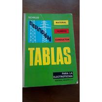 Tablas De Datos Para El Tecnico Electricista Schillo