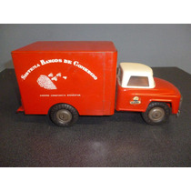 Camioncito De Làmina Muy Antiguo, Alcancìa Parece Dodge Farg