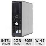 Cpu Dell Optiplex 755 Core 2 Duo A 2.6 Ghz 2gb Hd80 Gb