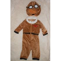 Halloween! Disfraz De Piloto Aviador Para Bebé! 12-18 Meses