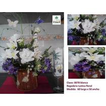 Arreglo Floral Artificial Regadera Rustica