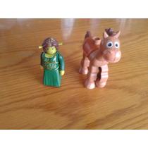 Figuras Lego Tiro Al Blanco Y Fiona Megabloks