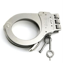 Tb Esposas Smith And Wesson 1 Hinged Nickle Handcuff