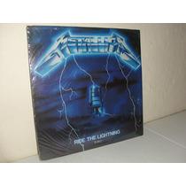 Vintage Lp Metallica Ride The Lightning 1986
