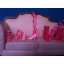 Lote De Zapatos Barbies, My Scene, Ken, Model