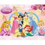 Kit Imprimible Princesas Disney, Invitaciones Y Cajitas