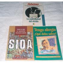 Libros De Salud ¿qué Debo Saber? Sida, Alergia, Alzheimer