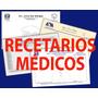 Recetarios, Impresion De Recetas Medicas Con Mercado Env�o