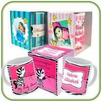 Tazas Con Caja Personalizadas A Todo Color En 48 H! + Diseño