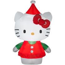 Hello Kitty Navidad Inflable Navideño Hm4