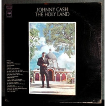 Johnny Cash - The Holy Land ¿ Disco Lp Vinil Usa 1969
