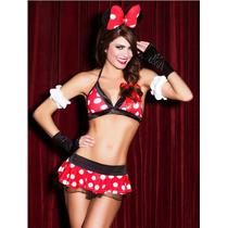 Sexy Baby Doll Disfraz Mimi, Minnie Mouse. Envío Gratis