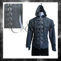Chamarra Eretica Gotico,dark,metalero,rockero Poliester H 2