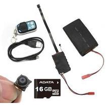Camara Espia Lente Sony Full Hd 1080p Con Bateria De 4000mah