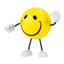 Figura Anti-stress Carita Feliz Promocional