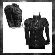 Chamarra Eretica Ropa Dark Gotico,metalero,rokero Poliester1