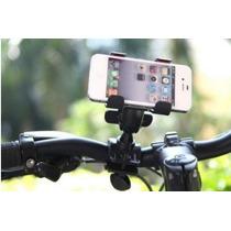 Base Soporte Moto Bicicleta Celular Iphone Motorola Nokia Lg