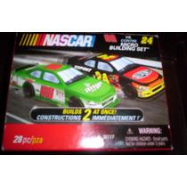 Nascar 2 Autos Tipo Lego / Knex Jeff Gordon Y Dale Jr
