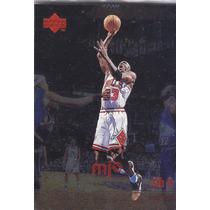 1998 Upper Deck Mjx 4th Q Foil Michael Jordan Bulls