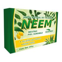 Jabones De Neem Neutro Artesanales
