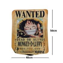 Almohada One Piece Luffy Wanted De Excelente Calidad