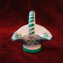 Mini Canastita De Porcelana