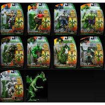Marvel Legends Hulk Fin Fang Foom Ser. Completa 10 Pzs. Hm4