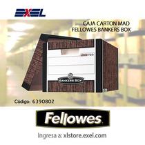 Caja Carton Mad Fellowes Bankers Box Oficio C/20