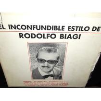 Rodolfo Biagi El Inconfundible Estilo Lp Vinilo Acetato