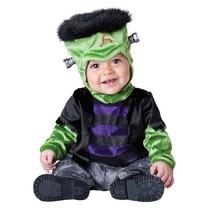 Disfraz Bebe Frankie Niño Halloween Frankenstein Monstruo