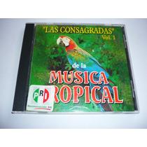 Las Consagradas De La Musica Tropical Vol 1 Cd 1995