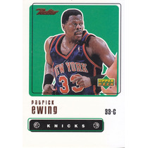 1999-00 Upper Deck Retro Patrick Ewing Ny Knicks