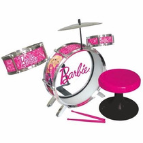 Bateria Musical De Barbie, Minnie Boutique, De Jugueteimpala