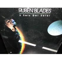 Ruben Blades Agua De Luna Lp Vinilo Acetato