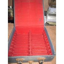 Antigua Caja Para Transportar Kct De Musica Cassetes Vintage
