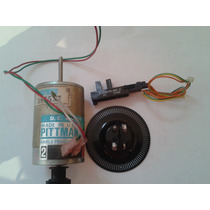 Motor Con Encoder Pittman 100 Pulsos Por Rev, 12v, C/sensor.