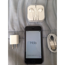 Iphone 5s Space Negro Desbloqueado 16gb Completo Apple