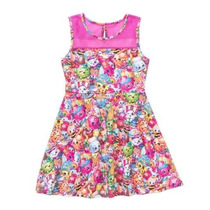 Shopkins Vestido Talla 7/8 Disfraz Niña Original Juguetes