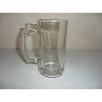 Tarro Cervecero De Cristal De 350 Mls Grueso Buena Calidad